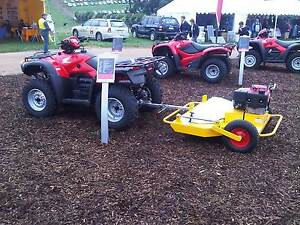 MOWER TOW N MOW SLASHER -  TOW BEHIND, 13HP-23HP HONDA ENGINES Geelong Geelong City Preview