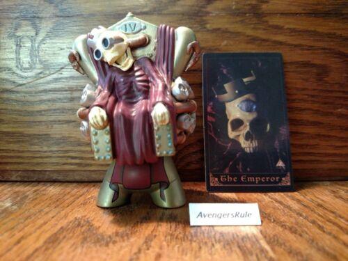 Arcane Divination Lost Cards KidRobot Vinyl Mini Series The Emperor 2/20