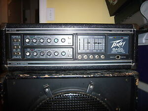 Peavey Head and Bass  Bin