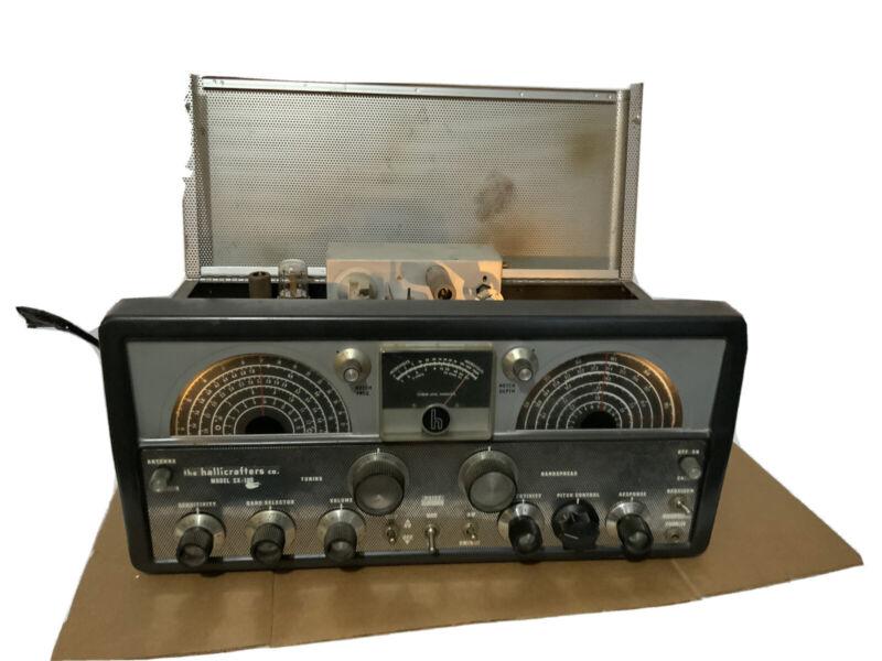 VINTAGE HALLICRAFTERS SX-100 RADIO RECEIVER