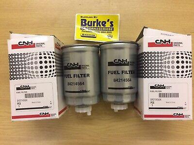 Case IH Tractor International GENUINE Diesel Fuel Filter 2pk 84214564 3132428R2