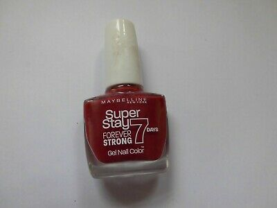 Maybelline Superstay 7 Days Forever Strong Gel Nail Color 06 - Deep Red Neu