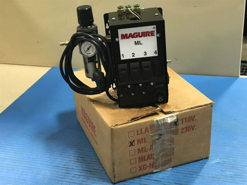 New Maguire Products ML-3R Microloader with SMC NAW3000-N03 Regulator (I11)