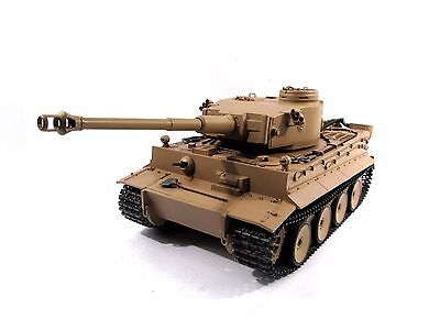 Complete Metal 1/16 Mato Tiger I KIT Version Infrared RC Tank Yellow Color 1220 for sale  Shipping to Ireland