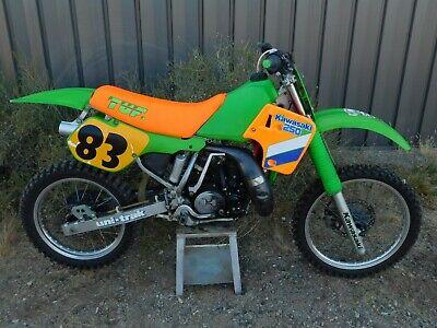 '87 Kawasaki KX250 KX 250 Vintage MX MotoCross 46mm Forks Core Rebuilder Racer