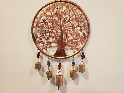 Copper Metal Tree (Tree of Life Copper Metal Wall Hanging Decoration 20