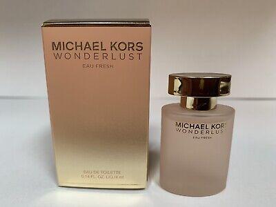 MICHAEL KORS WONDERLUST Eau Fresh Perfume 0.14oz / 4ml EDP MINI NEW. Boxed