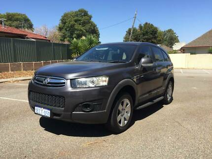 From $63 Per Week 2012 Holden Captiva Sx 7 Seats ***ONLY 77,000 KMS ** St James Victoria Park Area Preview