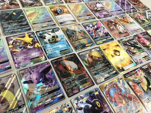 Pokemon Card Lot 100 Official Tcg Cards Ultra Rare Included | Gx Ex Mega Or V!