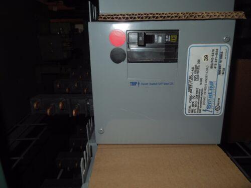 Starline Busway Tap Box Cbdc100e12-1-l630-4-ab 30a 2p 208y/120v Ab Phasing Used