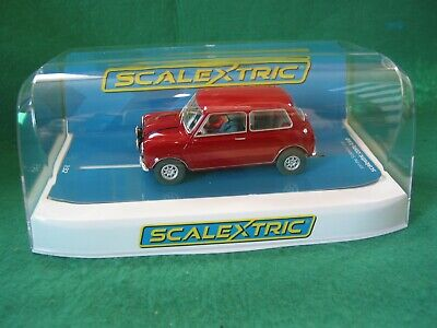 SCALEXTRIC MINI COOPER S HMP 719G RED FROM C2921A ITALIAN JOB MINT...