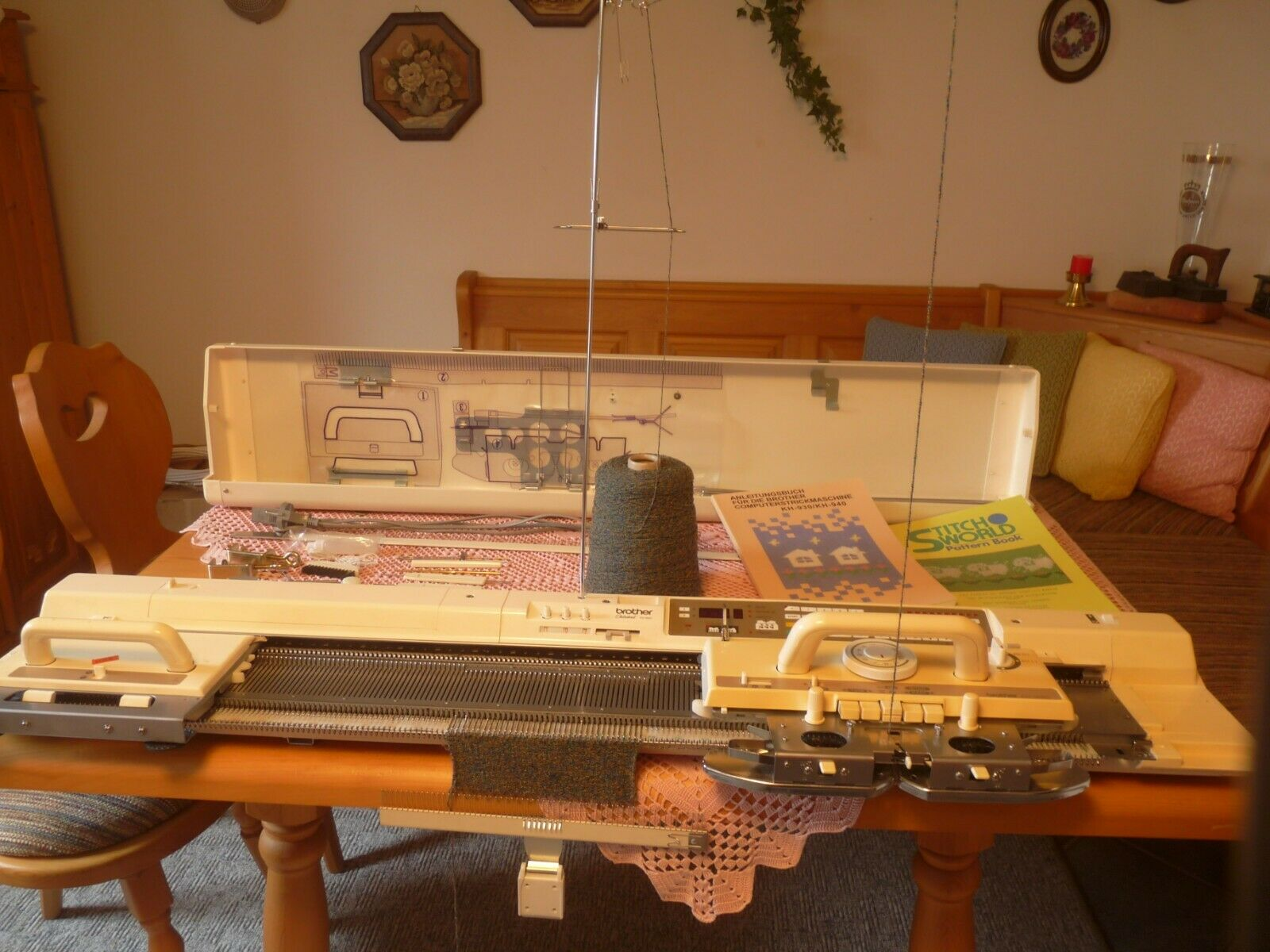 350x KH868 Nadel Brother Strickmaschine Knittingmachine needles вязальная машина