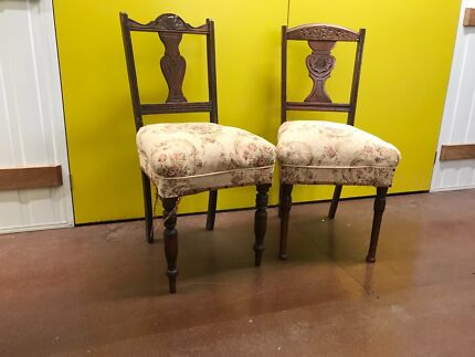 Antique dining chairs (2) - Antique Chairs In Brisbane Region, QLD Antiques Gumtree