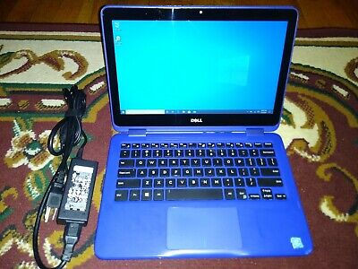 DELL INSPIRON 2-IN-1 TOUCHSCREEN CONVERTIBLE P25T 256GB SSD 8GB RAM LAPTOP PC