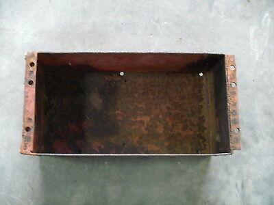 Ih Farmall Super A B 130 140 100 Under Seat Tool Box