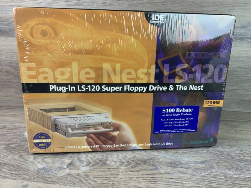 Mitsubishi LS-120 (SuperDisk) DriveMF357G-111MA Eagle Nest IDE Interface