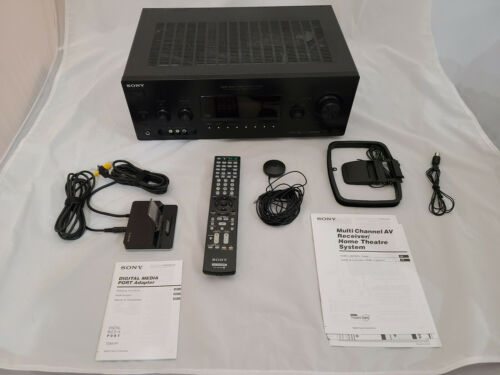 Sony STR-DG810 Digital Audio/Video Control Center 6.1 Channel Receiver Bundle