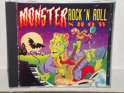 Rock N Roll Halloween Music (Monster Rock N' Roll Show DCC Compact Classics CD 1990 OOP Halloween)