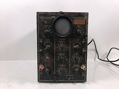 Vtg Cathode-ray Oscillograph Navy Department Obl-i