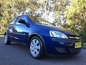 2004 Holden Barina SXI Hatchback Low Kms Blue Moorebank Liverpool Area Preview
