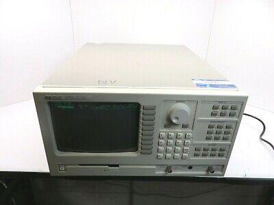 Hp Agilent 3588a Spectrum Analyzer 10hz-150mhz