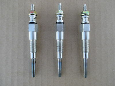 3 Glow Plugs For Kubota Bx23d Bx24d Bx25d F2260 F2400 F2560 F2560e F2880ef