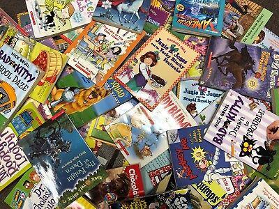 Lot of 15 chapter books RANDOM Children's Youth Early Readers Homeschool *Boys*