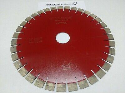 14 Bridge Saw Diamond Blade For Granite Marble 20mm Segment Height