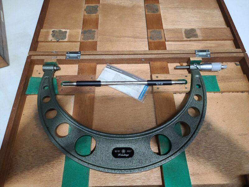 "Mitutoyo Micrometer 12-13"""