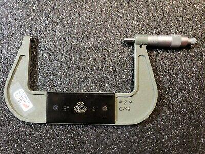 Used Etalon Outside Micrometer 5-6