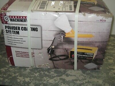 Central Machinery Portable Powder Coating Gun New In Box