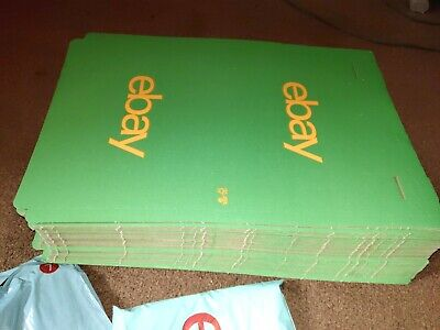 75 eBay Branded Packaging Small Cardboard Box (h25 x d240 x w345mm) 75-BOX6-GN