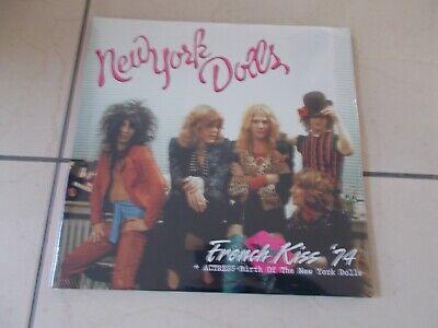 THE NEW YORK DOLLS french kiss '74 + Actress 2012 LTD 180G VINYL 2 LP SET