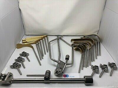 Omni-tract Surgical Orthopedic Abdominal Table Mounted Retractor Set