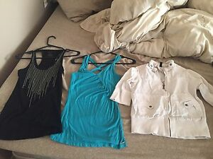 Clothes for sale.