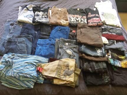 boys clothes bundle - size 12 - 26 items - $40 for the lot