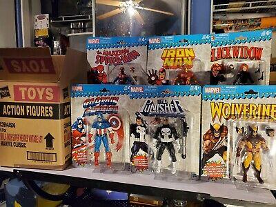 Marvel Legends Super Heroes Vintage Retro Wave 1 in original Hasbro box