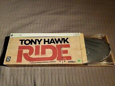 Xbox360 xbox 360 Tony Hawk Ride Game And Wireless Skateboard Controller NEW
