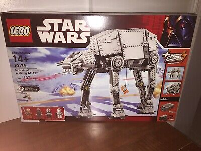 LEGO Star Wars Motorized Walking AT-AT (10178) - New In Box, with 4 minifigs