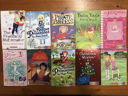 Set of 10 different kids children's chapter books novels