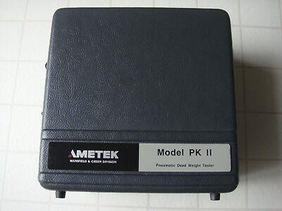 Ametek Model Pk Ii - 654wc