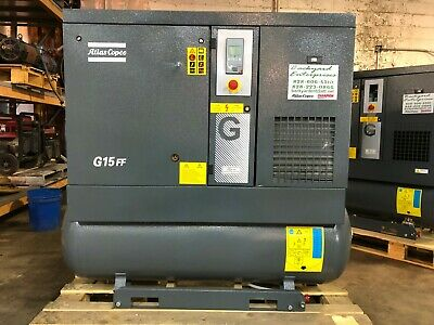 20 Hp Atlas Copco G15ff Rotary Air Compressor