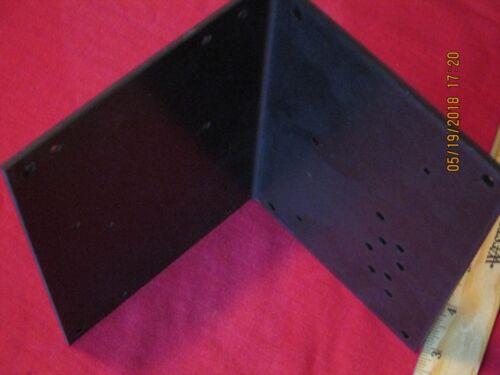 Black Aluminum L Angle Bracket