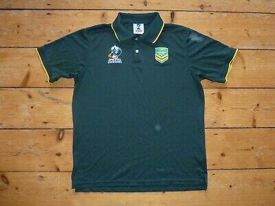 Australien Rugby Hemd Polo Trikot Maroc Heimspiel-Trikot Rugby League Wc Groß