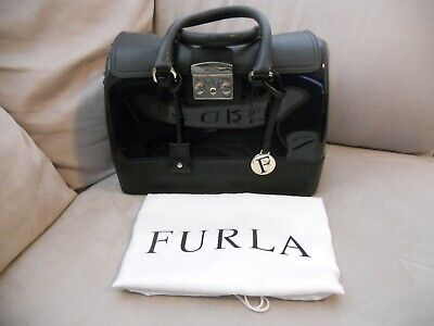 Blue Candy Bags (FURLA CANDY MIDNIGHT BLUE/BLK JELLY/LEATHER SATCHEL SPEEDY DR BAG +)