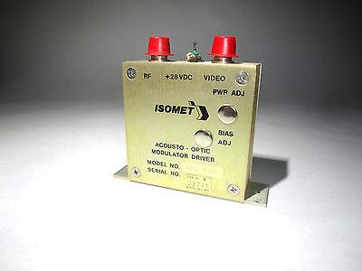 Isomet Acousto Optic Modulator Driver New Model 231b-1-45 Laser