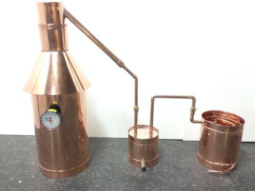 6 Gallon Copper Moonshine Still-Thumper and Worm-Heavy 20 Copper! FREE SHIPPING
