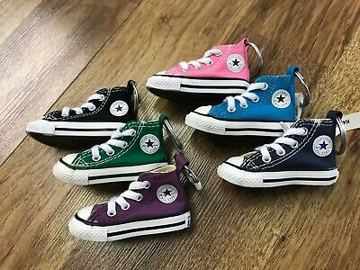 NWT LOT OF 6 - Converse Chuck Taylor All Star Sneaker Shoe Car Key Ring Keychain