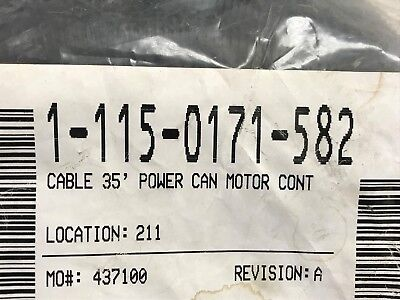 115-0171-582 Raven 35 Can Power Cable For Motor Control