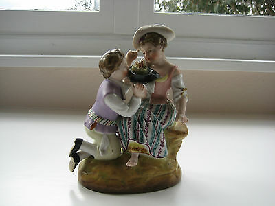 Plaue Porcelain Figure Late 19th Century